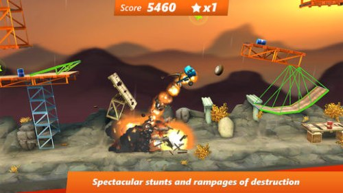 Bridge Constructor Stunts Game Android Free Download