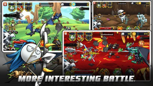 Cartoon Defense 5 Game Android Free Download