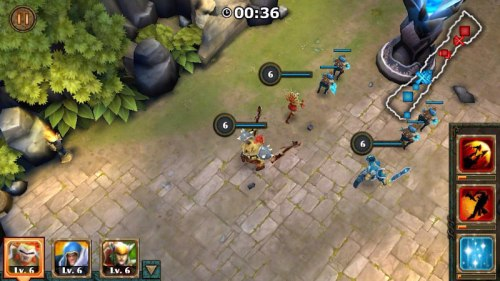 Legendary Heroes MOBA Game Android Free Download