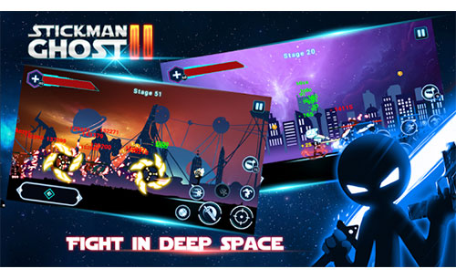 Stickman Ghost 2: Galaxy Wars Game Android Free Download