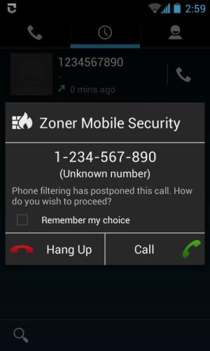 Zoner Mobile Security App Android Free Download