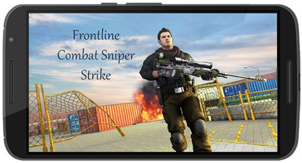 Frontline Combat Sniper Strike Game Android Free Download