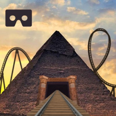 Pyramids Roller Coaster VR Game APK Android Free Download