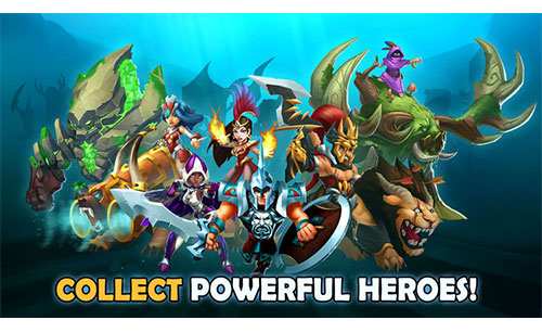 Wartide Heroes of Atlantis Game APK Android Free Download