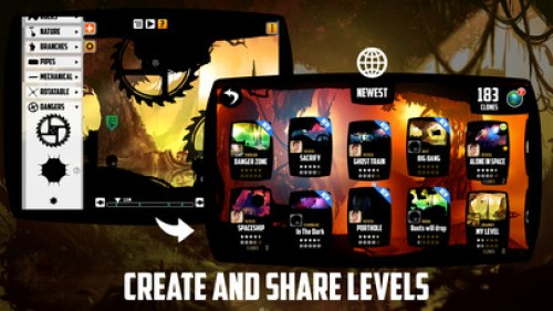 BADLAND Touch 3D Ipa Game iOS Free Download