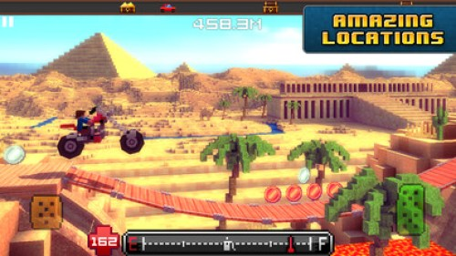 Blocky Roads Ipa Game iOS Free Download
