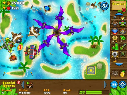 Bloons TD 5 HD Ipa Game iOS Free Download