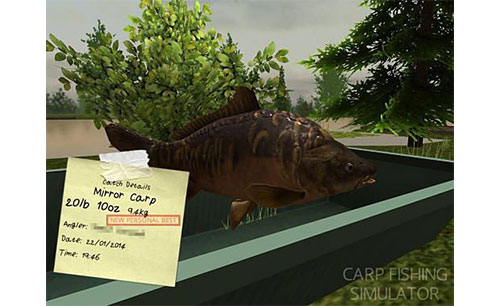 Carp Fishing Simulator Apk Game Android Free Download