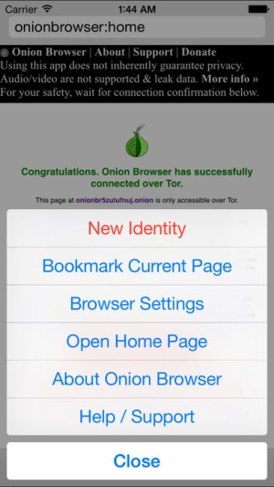Onion Browser Ipa App iOS Free Download