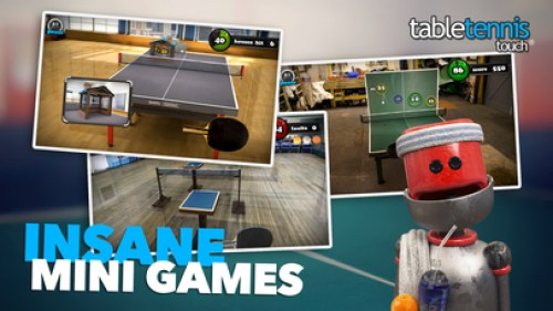 Table Tennis Touch Ipa Game iOS Free Download