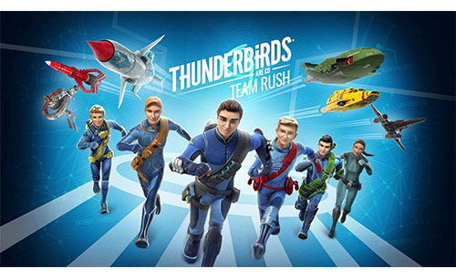 Thunderbirds Are Go Team Rush Apk Game Android Free Download