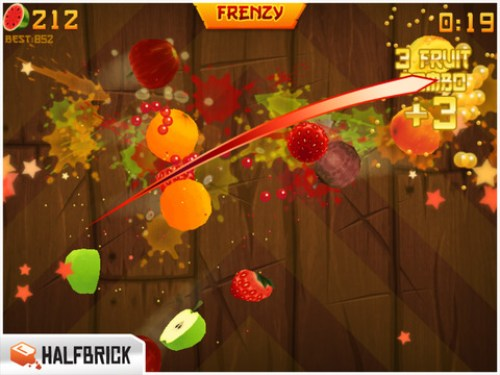 Fruit Ninja HD Ipa Game iOS Free Download
