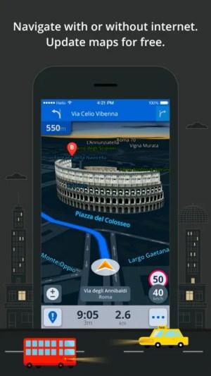 Sygic Europe: GPS Navigation, TomTom Offline Maps Ipa App iOS Free Download