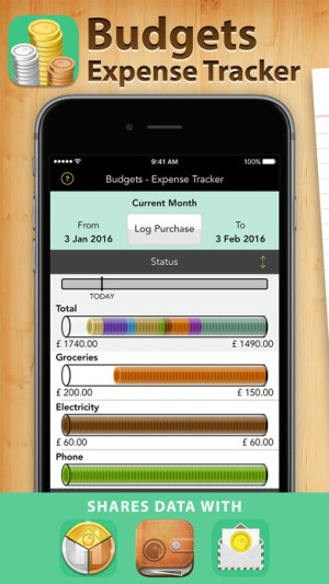Budgets Pro - Expense Tracker Ipa App iOS Free Download