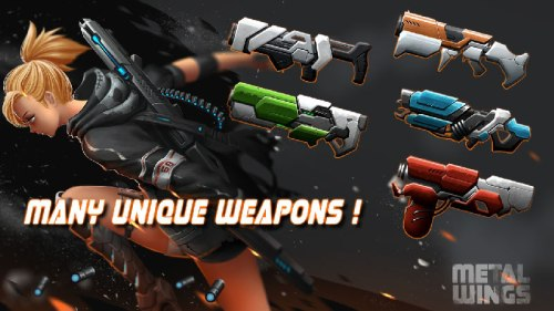 Metal Wings Elite Force Apk Game Android Free Download