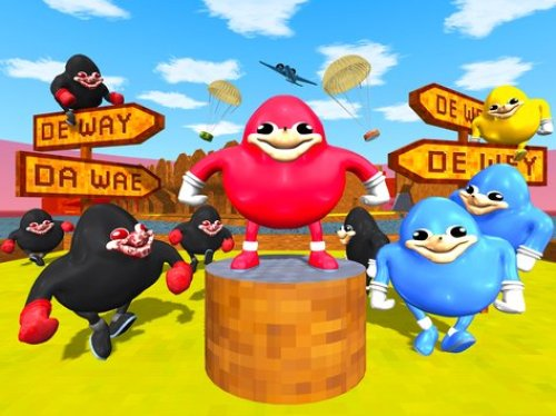 Ugandan Knuckles Battle Royale Apk Game Android Free Download