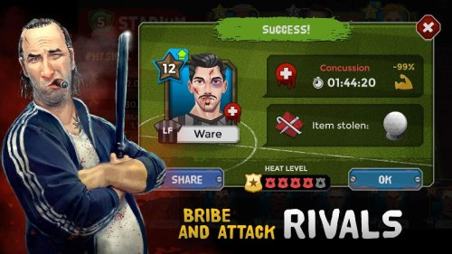 Underworld Soccer Manager 18 Apk Game Android Free Download
