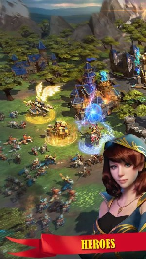 WarStorm Clash of Heroes Apk Game Android Free Download