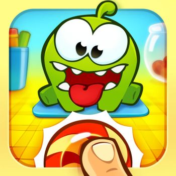Om Nom Candy Flick Ipa Game iOS Free Download