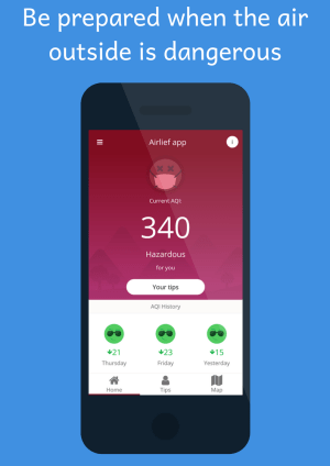 AirLief - Air Quality Apk App Android Free Download