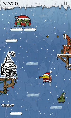 Doodle Jump Christmas Special Ipa Game iOS Free Download