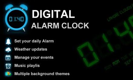 Digital Alarm Clock PRO App Android Free Download