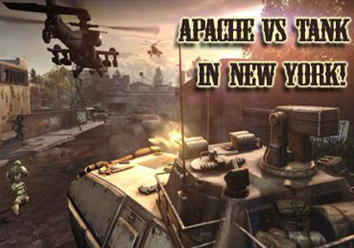 Apache vs Tank in New York 2013 Air Forces vs Ground Forces Ios Free Download