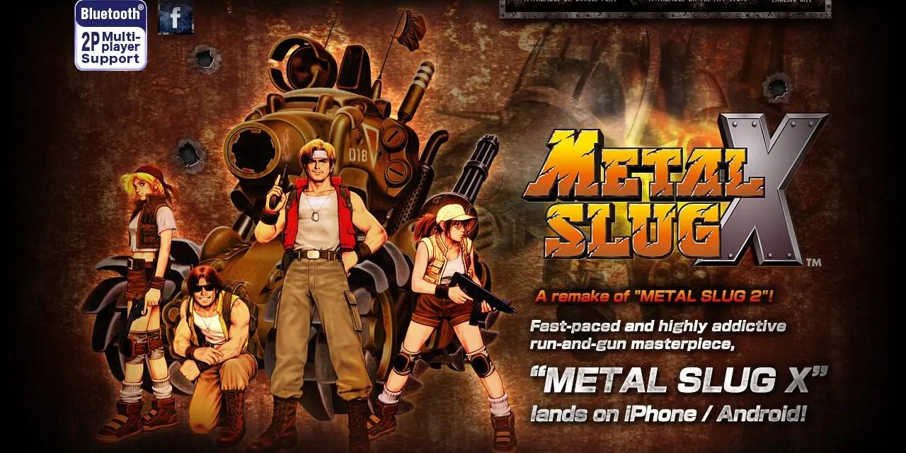 Metal Slug X Game Android Free Download