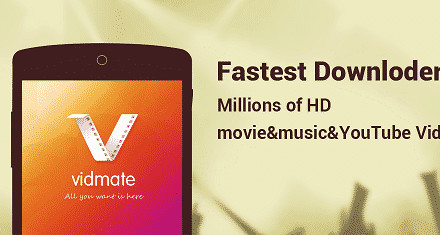 Vidmate HD Video Downloader Live TV App Android Free Download