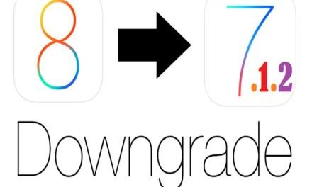 Downgrade iOS 8 To iOS 7.1.2