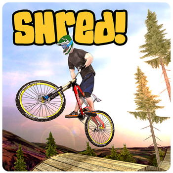 Shred Downhill Mountainbiking Game Android Free Download
