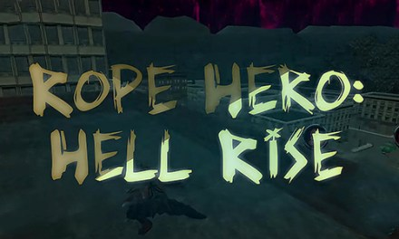 Rope Hero Hell Rise Game Android Free Download