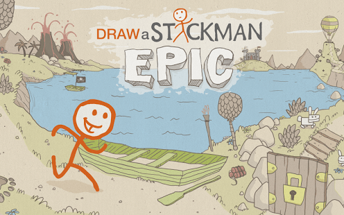 Draw a Stickman Epic Game Windows Phone Free Download