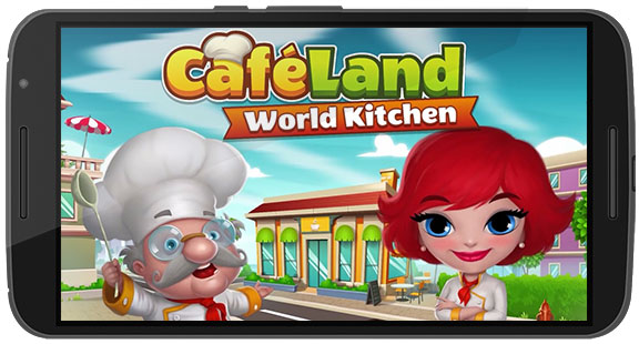 Cafeland World Kitchen Game Android Free Download