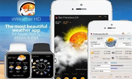 eWeather HD App IPA IOS Free Download