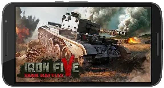 Iron 5 Tanks Apk Game Android Free Download