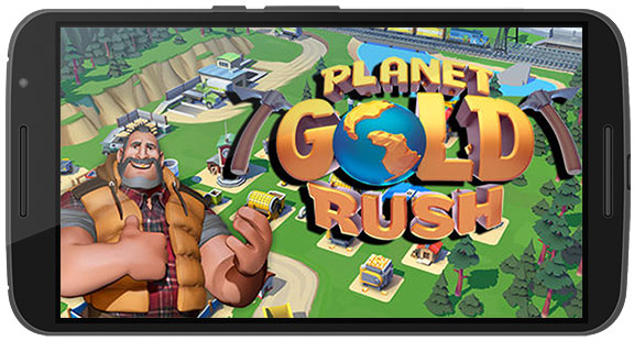 Planet Gold Rush Apk Game Android Free Download
