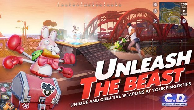 Creative Destruction Apk Game Android Free Download