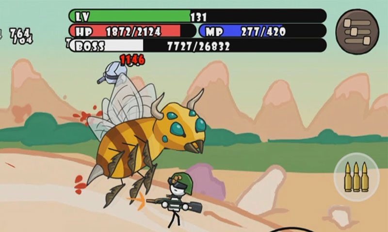 One Gun: Stickman Apk Game Android Free Download