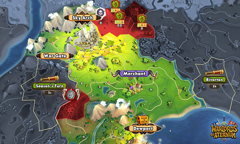 Warlords of Aternum Apk Game Android Free Download