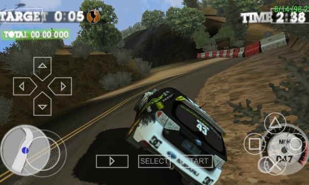 DIRT 2 PPSSPP Game Android And iOS Free Download