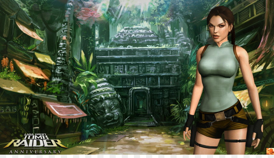 Lara Croft Tomb Raider Anniversary Game Android-iOS Free Download
