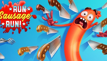 Run Sausage Run Apk Game Android Free Download