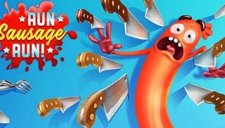 Run Sausage Run Apk Game Android Free Download
