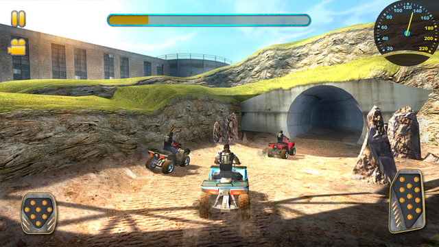3D Quad Bikes Unlimited HD Ipa Game iOS Download