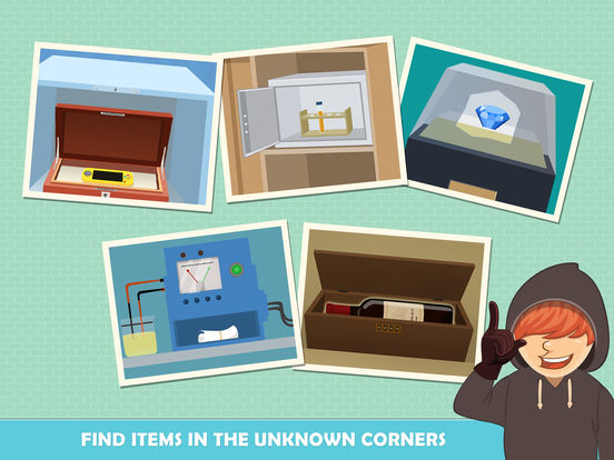 Can You Steal It: Secret Thief IPA Games iOS Download