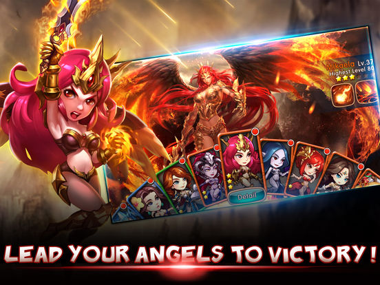 League of Angels – Fire Raiders Ipa Game iOS Download