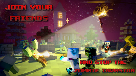 Mutant Zombies – Block Mine Ipa Games iOS Download