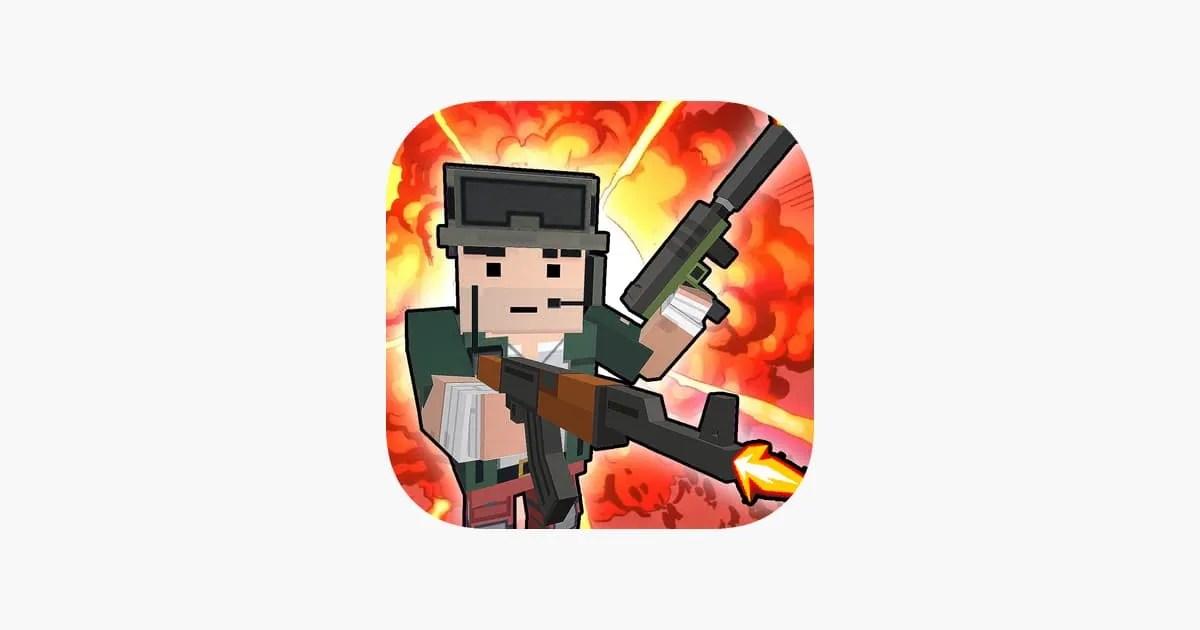 Blocky War – Cube City Defense Ipa Games iOS Download