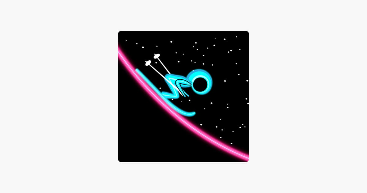 Ski On Neon – Top Flying Game! Ipa Games iOS Download